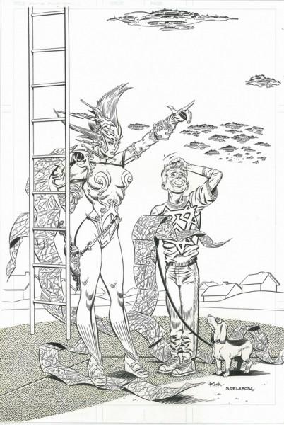 2000AD, Showcase, numéro 46, couverture