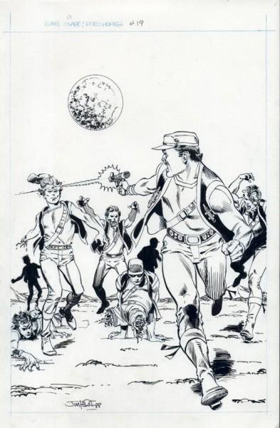 Sam Slade, Robot-Hunter, numéro 19, couverture