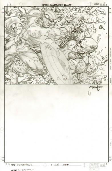Thunderbolts, numéro 105, couverture