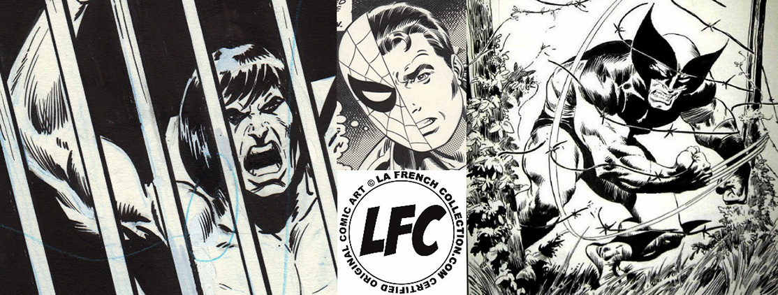 La French Collection - Planches originales de comics US