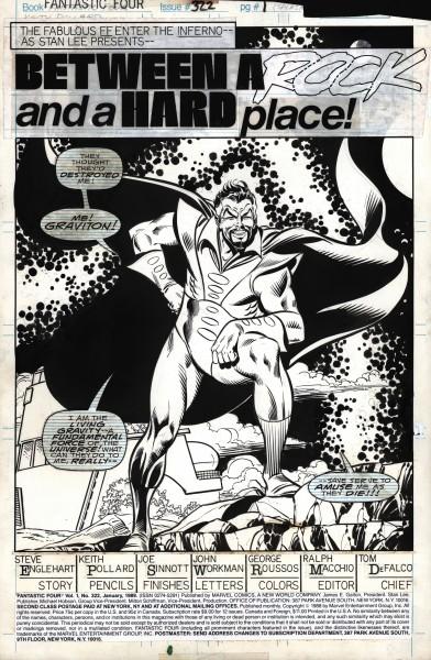 Fantastic Four , numéro 322, page 1