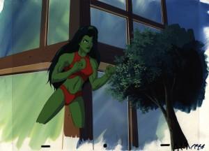 Incredible Hulk and She Hulk Animated Series She Hulk