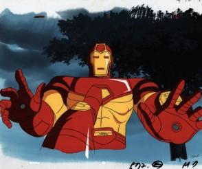 Iron man Animated Series Iron Man landing 2