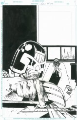 Law of Dredd, page 24, couverture