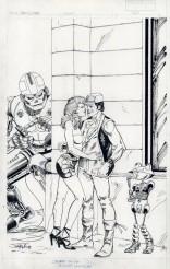 Sam Slade, Robot-Hunter, couverture
