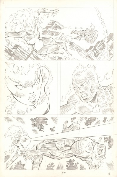 Fantastic Four , try-out page