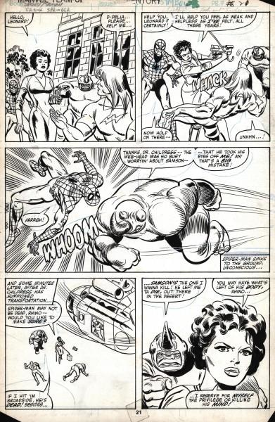 Marvel Team Up, numéro 102, page 21