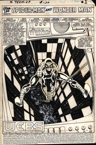 Marvel Team Up, numéro 136, page 1