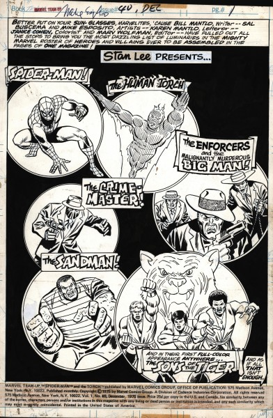 Marvel Team Up, numéro 40, page 1