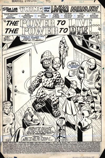 Marvel TwoI n One, numéro 95, page 1