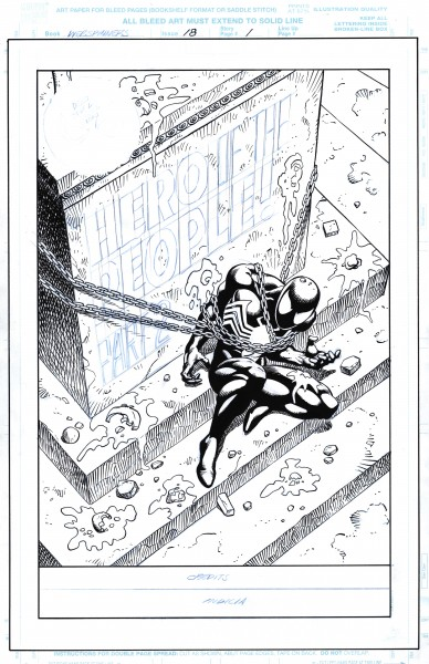 Webspinners-Tales Of Spider-man #18 pg1